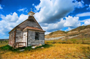 Alberta Originals - Pioneer Church 1 by Lawrence Christopher