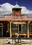 Pioneertown Digital Art - Pioneer Church by Danuta Bennett