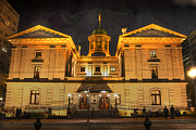 Pioneer Photos - Pioneer Courthouse by David Bearden