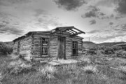Miners Ghost Prints - Pioneer Home - Nevada City Ghost Town Print by Daniel Hagerman