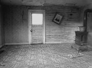 Gloomy Prints - Pioneer Home Interior - Nevada City Ghost Town Montana Print by Daniel Hagerman
