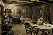 Vintage Chair Digital Art - Pioneer Homestead by Melany Sarafis