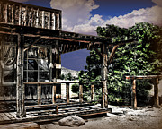 Pioneertown Digital Art - Pioneer House by Danuta Bennett