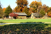 Indiana Landscapes Photo Prints - Pioneer Village 1 Print by Franklin Conour