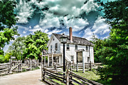 Pioneer Village Print by Jana Smith