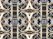 Abstract Image Prints - Pipe Hanger Print by Ron Bissett
