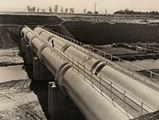 Imperial Valley Prints - Pipeline Of Californias All-american Print by Everett