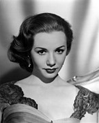 1950s Fashion Photo Metal Prints - Piper Laurie, 1954 Metal Print by Everett