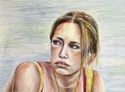 Covert Paintings - Piper Perabo by Brian Degnon