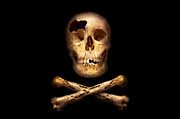 Buccaneer Photo Posters - Pirate - Pirate Flag - Im a mighty pirate Poster by Mike Savad