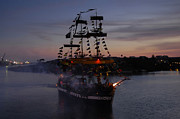 Pirates Photos - Pirate Invasion by David Lee Thompson
