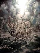 Pirate Islands 2 Print by Robert Tarrant