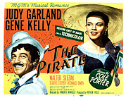 Films By Vincente Minnelli Posters - Pirate, The, Gene Kelly, Judy Garland Poster by Everett