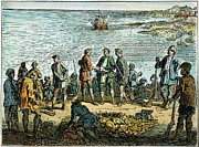 Spoils Prints - Pirates, 1705 Print by Granger
