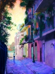 New Orleans Painting Prints - Pirates Print by Robert Bissett