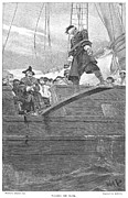 Tied-up Metal Prints - Pirates: Walking The Plank Metal Print by Granger