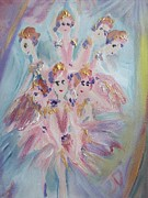 Stage Painting Originals - Pirouette by Judith Desrosiers