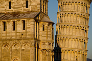 Pisa Posters - Pisa tower and cathedral Poster by Mats Silvan