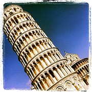 Pisa Tower Print by Luciana Couto