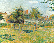 1887 Prints - Pissarro: Woman, 1887 Print by Granger