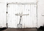 Shed Metal Prints - Pitch Fork Metal Print by Marilyn Hunt