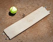 Pitchers Mound Print by Kelley King
