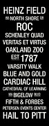 Oakland Posters - Pitt College Town Wall Art Poster by Replay Photos