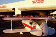 Pitts Art - Pitts Racer at 2010 Reno Air Races by Gus McCrea