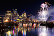 Pittsburgh Skyline. Prints - Pittsburgh 1  Print by Emmanuel Panagiotakis