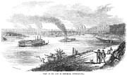 Pittsburgh, 1853 Print by Granger