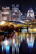 Rivers Ohio Prints - Pittsburgh 2 Print by Emmanuel Panagiotakis
