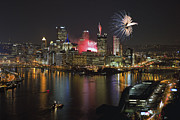 Pittsburgh Skyline. Prints - Pittsburgh 3 Print by Emmanuel Panagiotakis