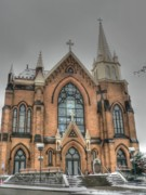 Pittsburgh Cathedral Print by David Bearden