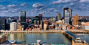 Pittsburgh Framed Prints - Pittsburgh Framed Print by David Hahn