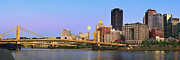 Panoramic Prints - Pittsburgh Pano 19 Print by Emmanuel Panagiotakis