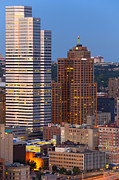 Pittsburgh Prints - Pittsburgh skyline 1 Print by Emmanuel Panagiotakis
