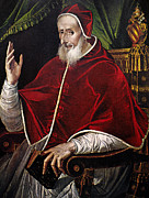 Inquisition Paintings - Pius V (1504-1572) by Granger