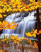 Berry Photo Posters - Pixley Falls Poster by Diane E Berry