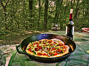 Zinfandel Originals - Pizza and Vino by William Fields