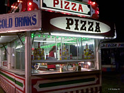 Amusements Framed Prints - Pizza Stand Framed Print by Brian Wallace