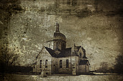 Old Greeting Cards Photos - Place of Prayer by Larysa Luciw