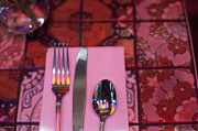 Tabletop Prints - Place Setting Print by Sam Bloomberg-rissman