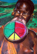 Sign Pastels - Plains of Peace by Andre Ajibade