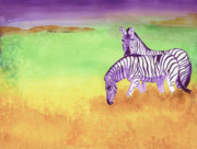 Plains Originals - Plains Zebra by Tracy L Teeter