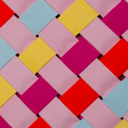 Color Sculpture Prints - Plaited Print by John White