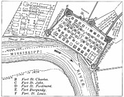 American City Prints - Plan Of New Orleans, 1798 Print by Granger