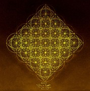 Fractal Drawings - Planck Space Time  by Jason Padgett