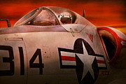 Jet Star Photos - Plane - Pilot - Airforce - Go get em Tiger  by Mike Savad