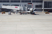 Depart Photos - Plane at Gate by Shannon Fagan