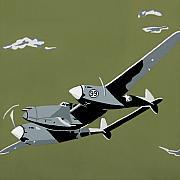 Plane Jane 2 Print by Slade Roberts